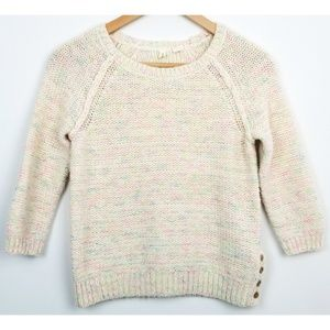 Moth Anthropologie XS pullover sweater wool blend
